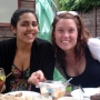 My lovely friends at a post-exam BBQ in the summer  - Kingston University London