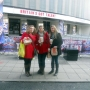 With friends at Britain's Got Talent auditions - Kingston University London