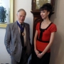 Meeting the Lord Mayor, Robin Sherlock - Kingston University London