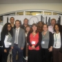 Students and staff on the UNC Charlotte study tour - Kingston University London