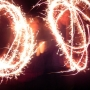 Bonfire Night with sparklers was fun! - Kingston University London