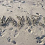 Making my mark on the beach - Kingston University London