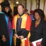 Me and one of my lecturers at my Graduation - Kingston University London