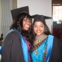 Me and Nessa at Graduation - Kingston University London