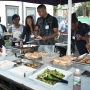 Barbecue at the compact event in my first year - Kingston University London