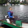 Magdalena: Our KUSA drum beater for the Dragon boat race 2011 - Kingston University London