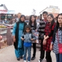 At Thorpe Park - Kingston University London