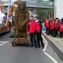 At the Lord Mayors show  - Kingston University London