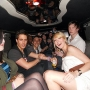 A standard university birthday party limo - Kingston University London