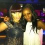 Me (right) and my friend Mischa at Oceana in Kingston for my birthday - Kingston University London