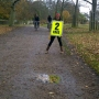 Route Marshal for the Stroke Organization Santa Fun Run - Kingston University London