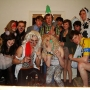 Fancy dress in my 3rd year as Motley Crew - Kingston University London