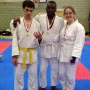 David, Tai and Myself winning gold for Kingston at the Jitsu nationals - Kingston University London