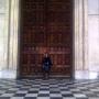 Posing at St Paul's Cathedral - Kingston University London