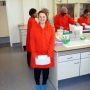Me in my radioactive gear - Kingston University London