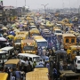 Crazy traffic in Nigeria - Kingston University London