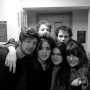 Me and some friends at Clayhill before going out - Kingston University London