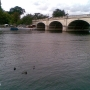 Beautiful picture of the river in Kingston - Kingston University London