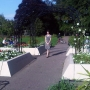 At the Princess Diana Memorial Garden, Cambridge - Kingston University London