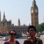 Showing my cousin from Japan the sights! - Kingston University London
