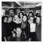 Myself and my cast after our final show at The Rose Theatre.  - Kingston University London
