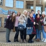 My curriculum group during our Kingston riverside walk as part of a humanities lesson - Kingston University London